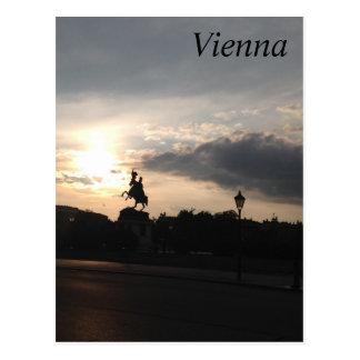 Museumplatz, Vienna Postcard