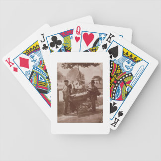 Mush Faker and Ginger Beer Maker, from 'Street Lif Bicycle Playing Cards