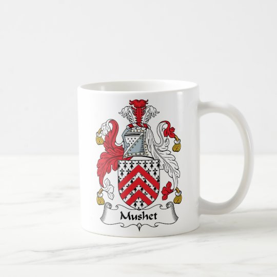 Mushet Family Crest Coffee Mug