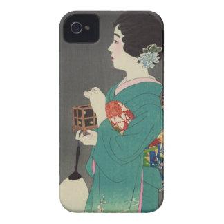 Mushikago, Itō Shinsui - Japanese Woodblock Print iPhone 4 Case-Mate Cases