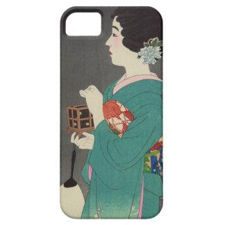 Mushikago, Itō Shinsui - Japanese Woodblock Print iPhone 5 Cover