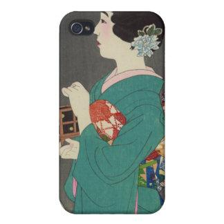 Mushikago, Itō Shinsui - Japanese Woodblock Print iPhone 4/4S Cover