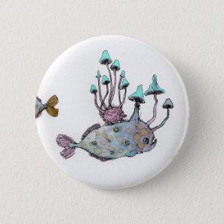Mushroom and Hedgehog Button