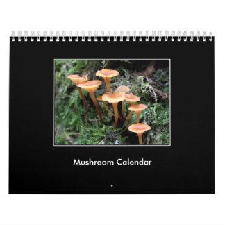 Mushroom Calendar