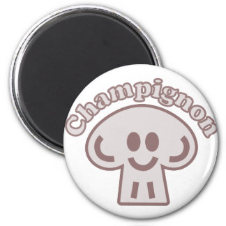 Mushroom Champion Magnet