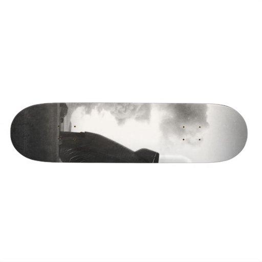 Mushroom Cloud Skateboard