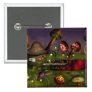 Mushroom - Deep in the Bayou Pinback Button