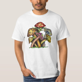 Mushroom Elf Tshirt