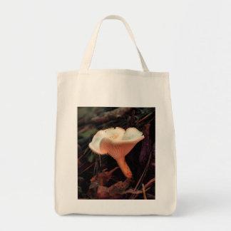 Mushroom Essence Organic Grocery Tote Tote Bags