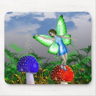 Mushroom Fairy Mouse Mat