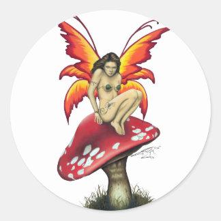 Mushroom fairy Stickers