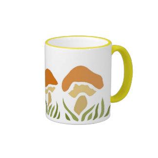 Mushroom Family Ringer Mug