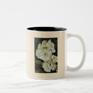 Mushroom Florets Two-Tone Coffee Mug
