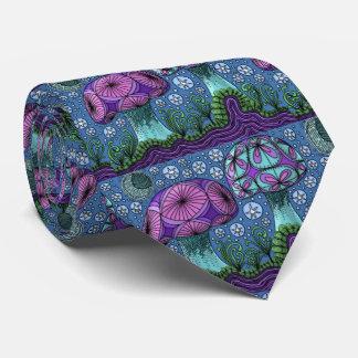 Mushroom Galaxy Tie