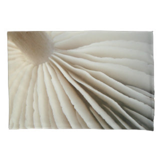 Mushroom gills and logs pillowcase