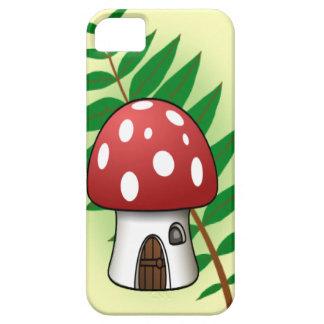 Mushroom House iPhone 5 Cases