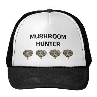 Mushroom hunter trucker hat