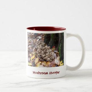 Mushroom Hunter Hen of the Woods Mugs
