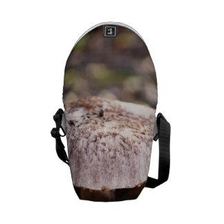 Mushroom in Forrest Messenger Bags