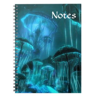 Mushroom Jellifish Notebook