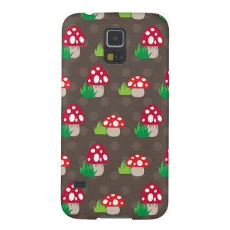 mushroom kids pattern galaxy s5 cases