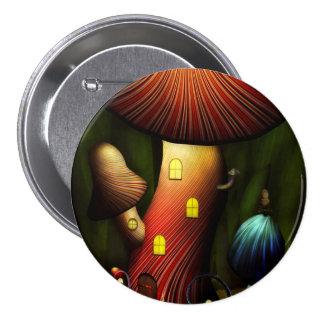 Mushroom - Magic Mushroom 7.5 Cm Round Badge