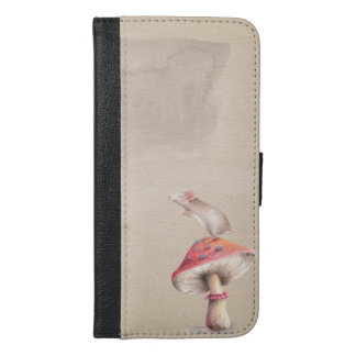 Mushroom mouse iPhone 6/6s plus wallet case
