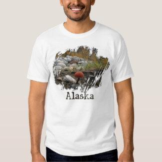 Mushroom on a Rocky Bank; Alaska Souvenir T Shirts