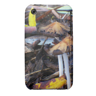 Mushroom on Rainforest Floor 3G/3GS BarelyThere Case-Mate iPhone 3 Cases