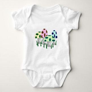 Mushroom Patch Baby Bodysuit