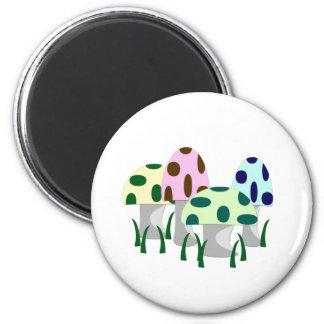 Mushroom Patch Magnet