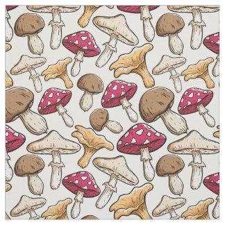 Mushroom Pattern fabric