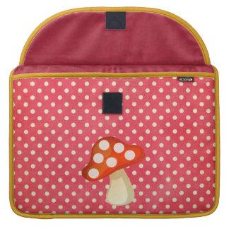 Mushroom Rickshaw Flap Sleeve MacBook Pro Sleeves