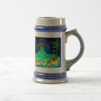 Mushroom Tea Stein Mug