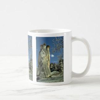 Mushroom-topped rock formation, Cappadocia rock fo Coffee Mugs