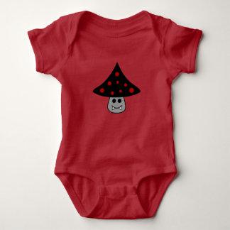 Mushroom Vampire Baby Bodysuit
