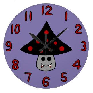 Mushroom Vampire Clock