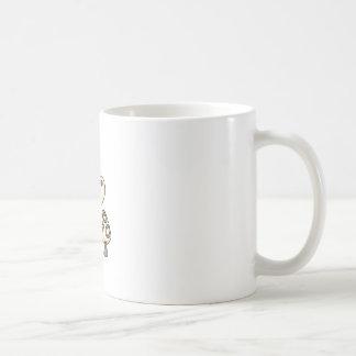 MUSHROOM WITH LADYBUG COFFEE MUGS