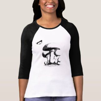 mushrooms and butterfly T-Shirt