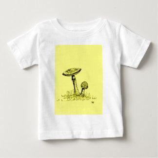 Mushrooms and Toadstools art. Baby T-Shirt