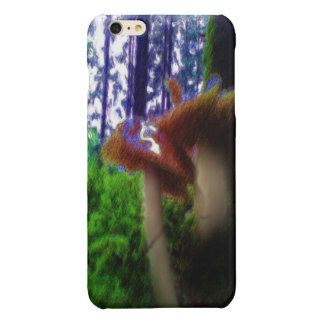 Mushrooms in the forest iPhone 6 plus case