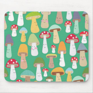 mushrooms mouse mat