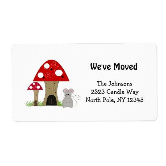 Mushrooms New Home Address