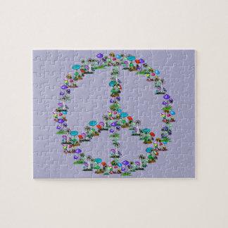Mushrooms Of Peace Jigsaw Puzzle