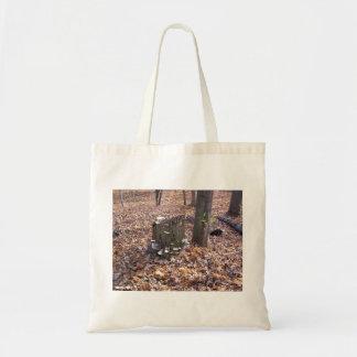 Mushrooms on Stump Bag