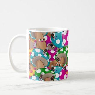 Mushrooms pattern 1 coffee mug
