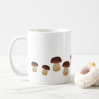 Mushrooms Stripe Mug