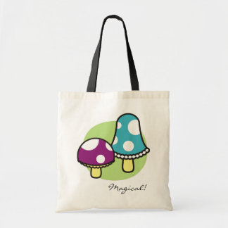 Mushrooms Tote Bag, Magical!