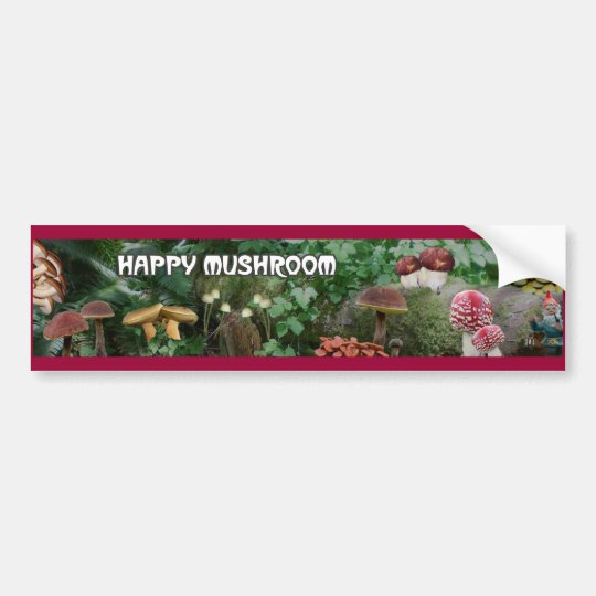 Mushroomscape Bumper Sticker