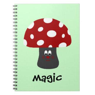 Mushroon Magic Notebooks